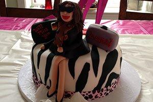 Zum Abschied hat Luana von ihrer Gastfamilie diesen Abschieds-Cake bekommen.