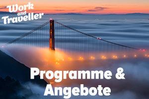 Programme für Work & Travel in den USA