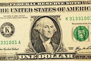 1- Dollar Geldnote US