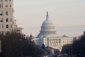 weißes Gebäude in Washington
