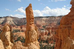 unterschiedliche Felsformationen in Utah
